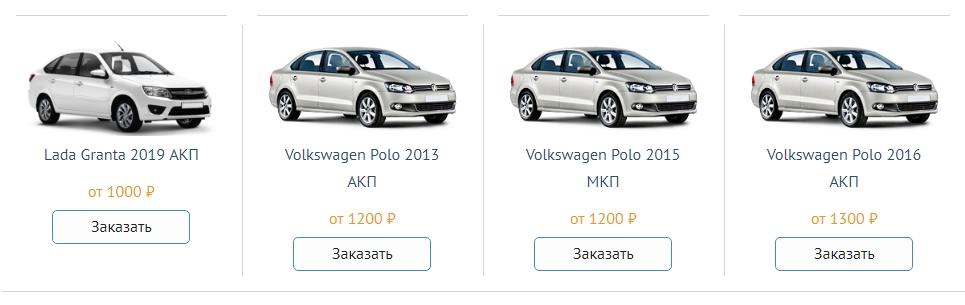 Автомобиль напрокат в Краснодаре