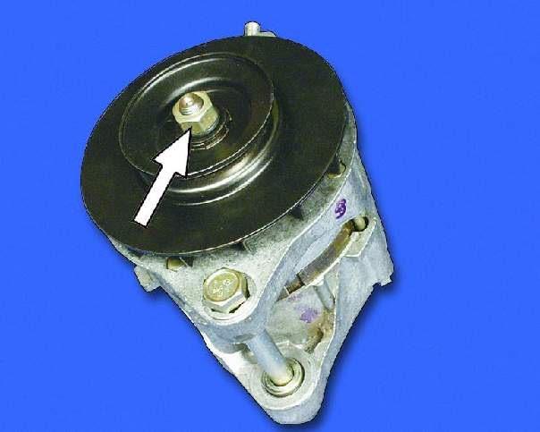 Как разобрать генератор ваз 2109