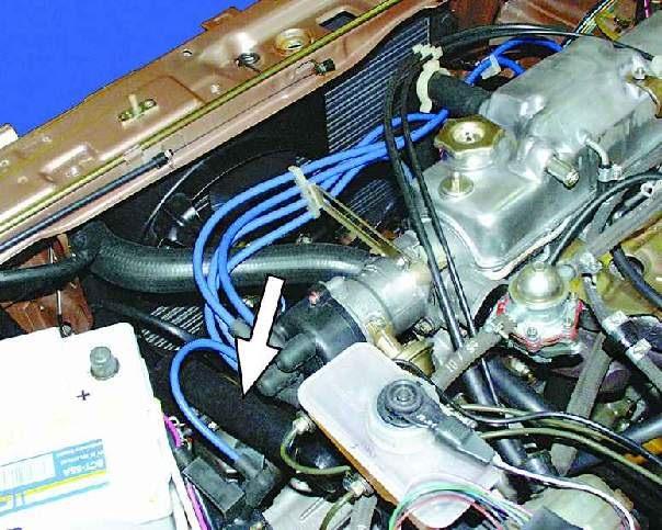 термостат на ваз 2109 карбюратор где находится