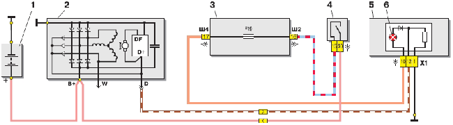 Схема генератора (94.3701)